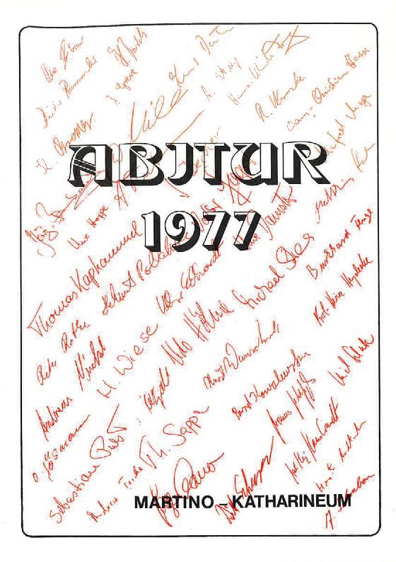 Abi-Zeitung 1977-1